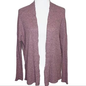 American Eagle Soft & Sexy  Pink Waffle Cardigan